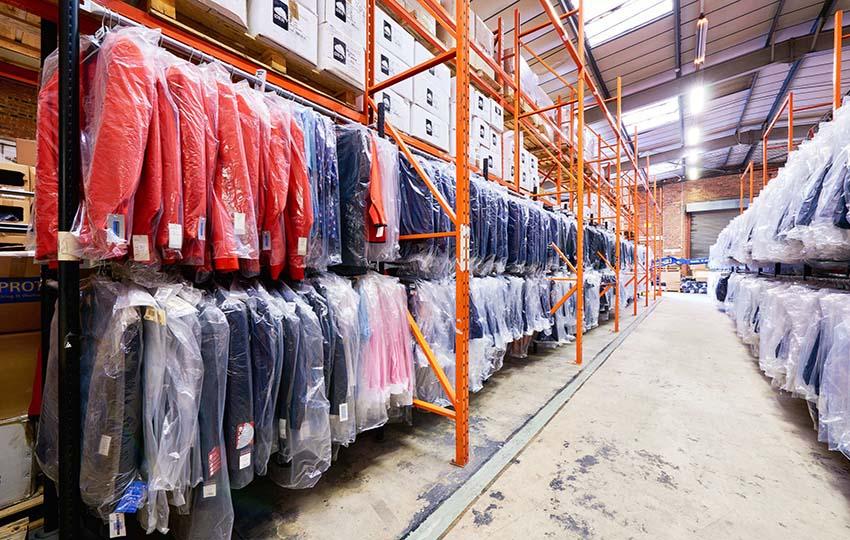 innovazione tecnologica magazzino fashion